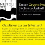 Gardinen zu im Internet?/ Erster CryptoSwap  Sachsen-Anhalt