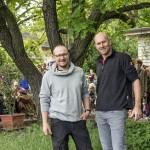 Andreas Guthe und Wolfgang Aldag von Grüngeist