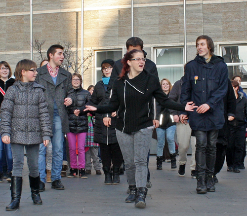 One Billion Rising in Halle 2015