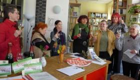 """Feier zum Weltfrauentag in der """"Weiberwirtschaft"""" in Halle"""