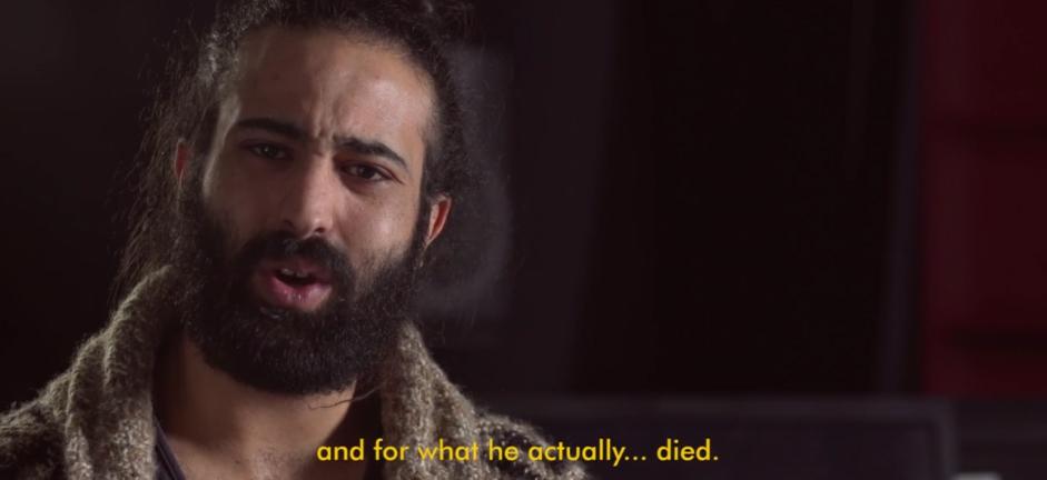 Omar Shalash, Regisseur von BEYOND THE FRAME