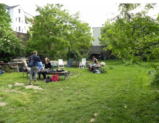 Nachbarschaftsgärten in Leipzig