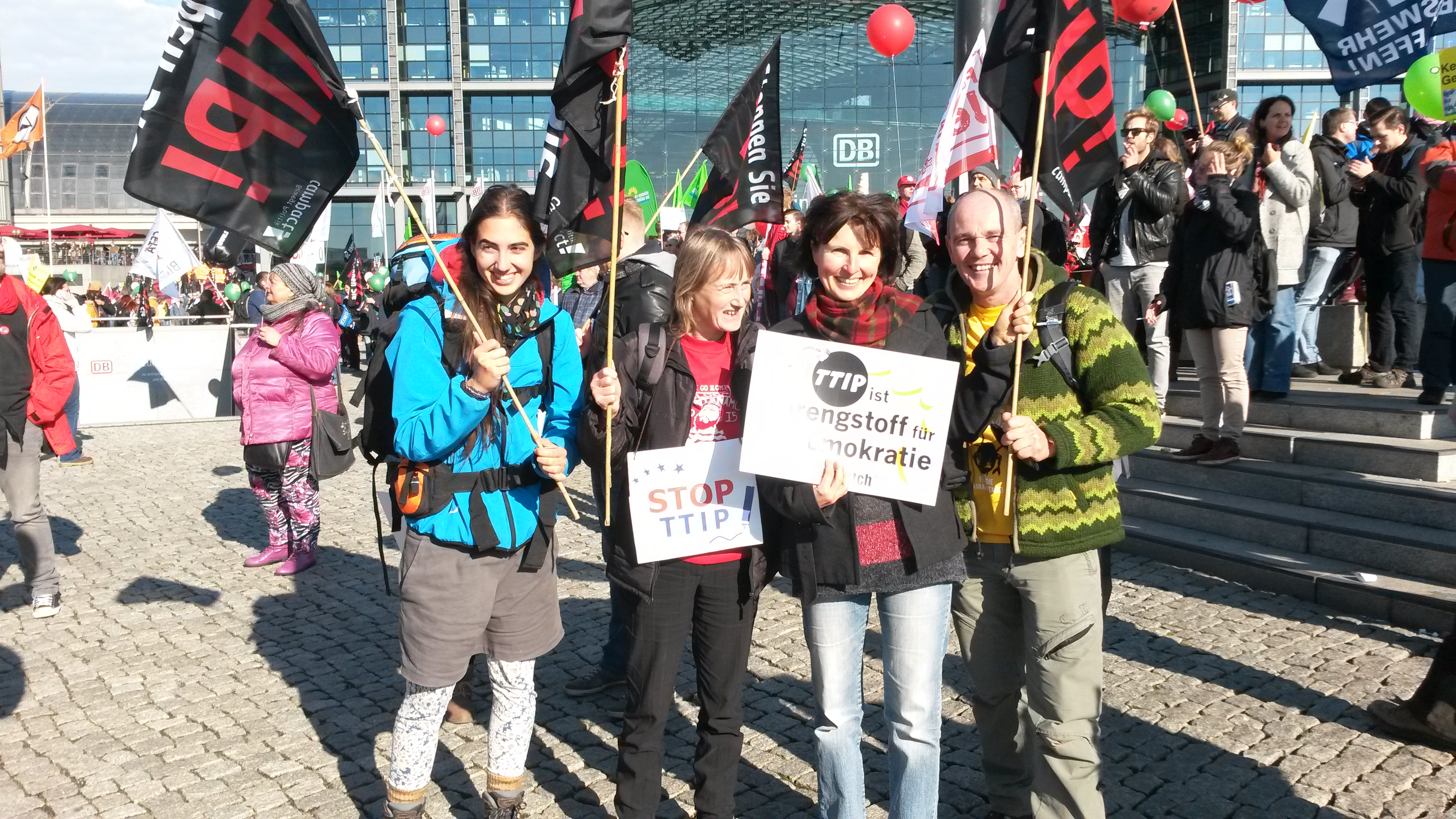 TTIP-Demo am 10. Oktober in Berlin