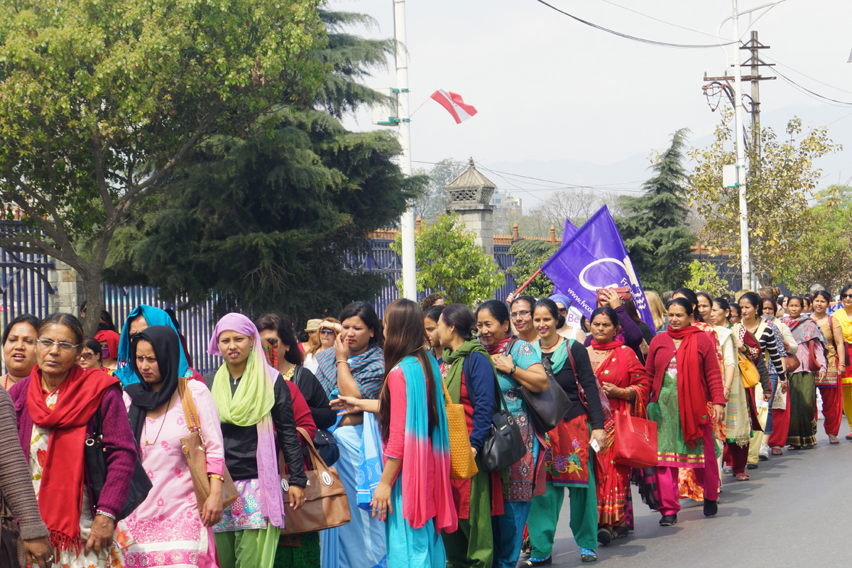 Weltfrauenkonferenz in Kathmandu