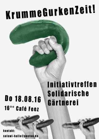 Solidarische Gärtnerei startet in Halle