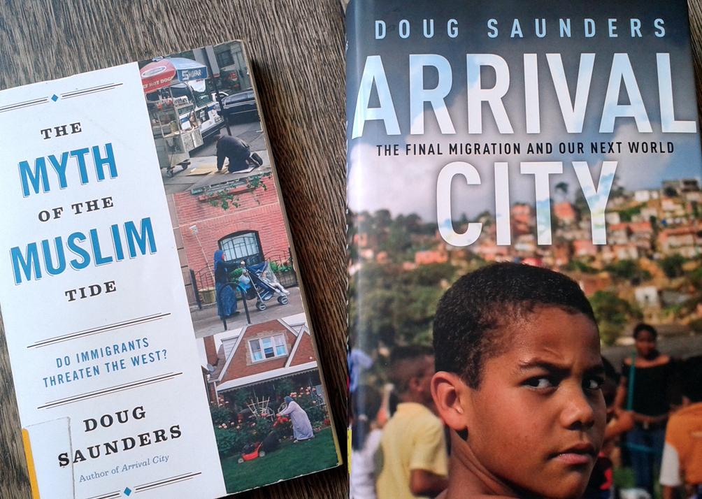 Zwei Bücher von Doug Saunders