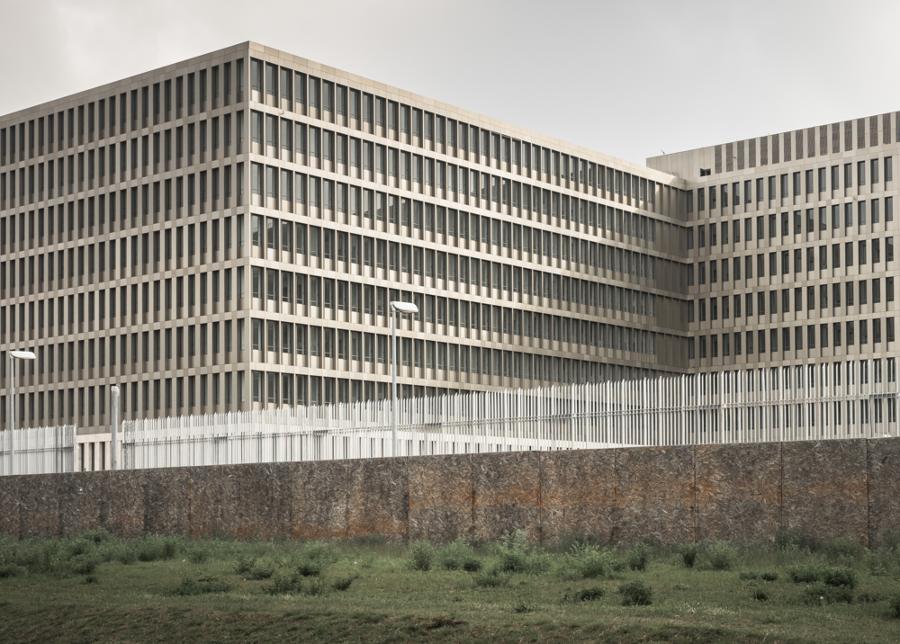 Die BND Zentrale in Berlin