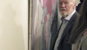Der Maler Otto Möhwald war häufig gesehener Gast auf Vernissagen