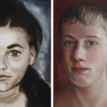 Augen und Blicke – Eindringliche Portraits von Babette Brühl in der VillaRabe