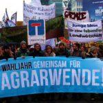 Berlin: 18.000 Menschen demonstrierten für Agrarwende