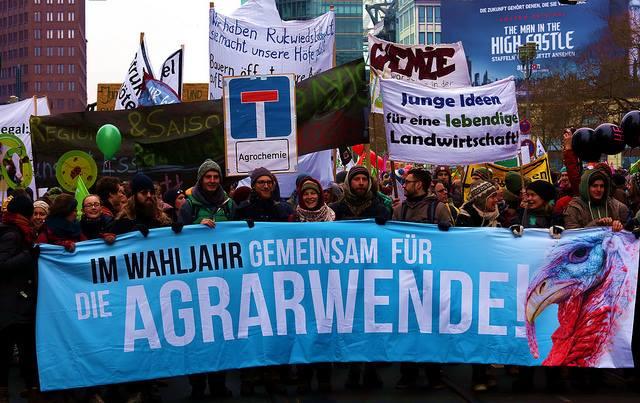 Wir haben es satt - Demo 2017 für eine nachhaltige Agrarwende
