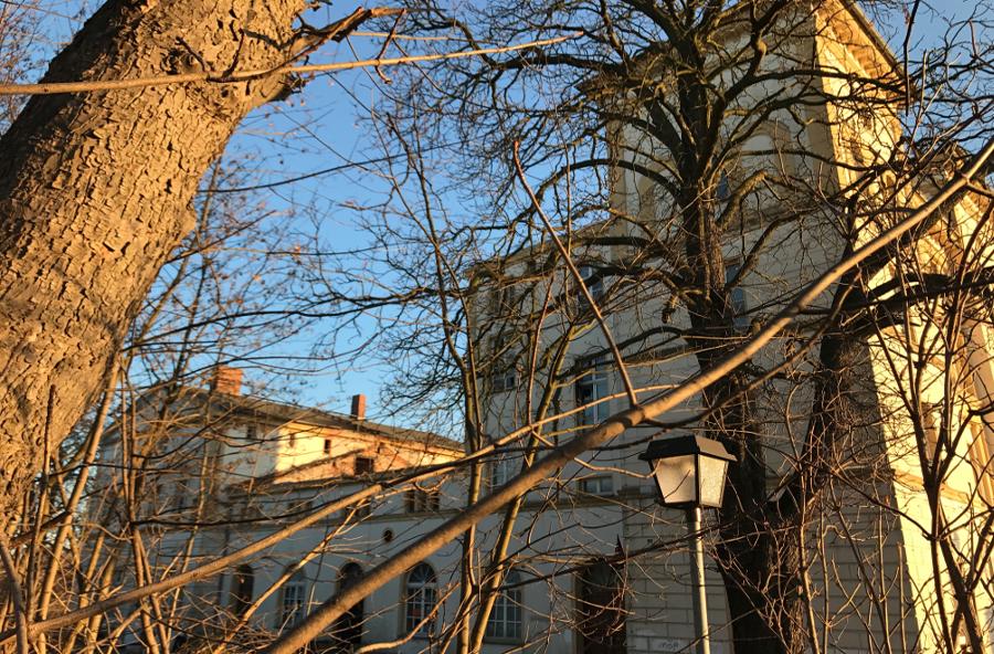 Das Wupphaus in alter Pracht