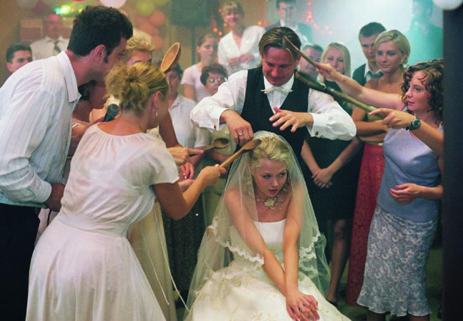 """Szene aus """"Wesele / The Wedding"""" von A. Wajda"""