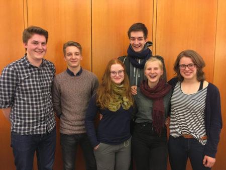 SprecherInnen und VertreterInnen des JuPa Leipzig