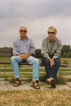 Kurt Bartsch und Wasja Götze im Juli 1992