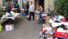 Flohmarkt zugunsten des Hallischen Frauenhauses