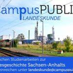 Publikationsprojekt zur Landeskunde Sachsen-Anhalts