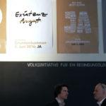 Bedingungsloses Grundeinkommen - Ausstellung und Kinofilm im Puschkinhaus