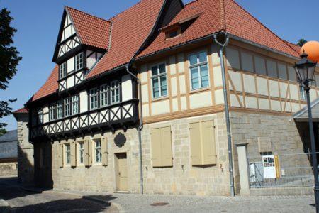 historischer Teil des Gleimhauses Halberstadt
