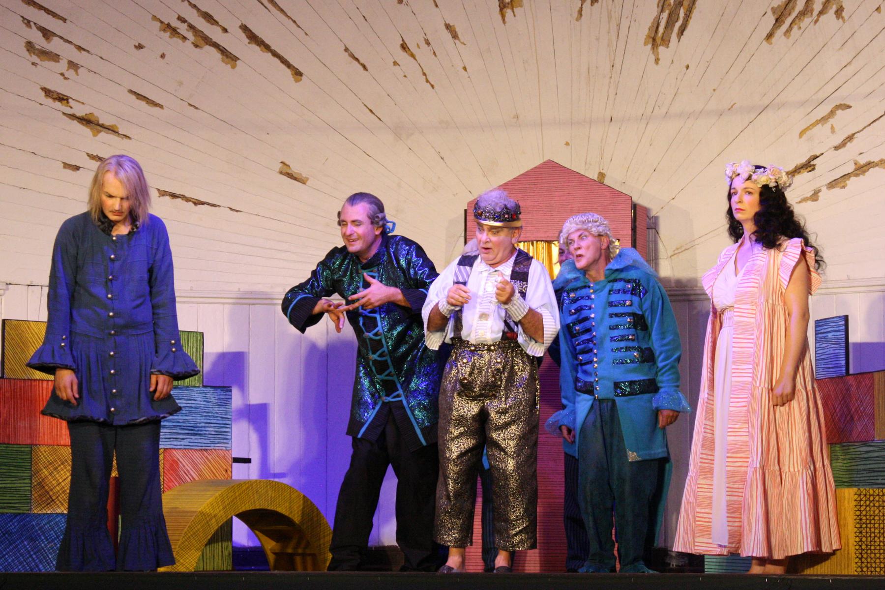 """""""Leonce und Lena"""", varomodi 2018, Inszenierung Anna-Siegmund-Schultze"""