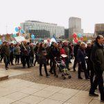 Leipzig: Aufstehen für Frieden, Atom-Stop und soziale Gerechtigkeit