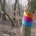 Wir stricken für unsere Bäume