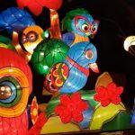 Lichterwelten im halleschen Zoo