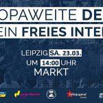 Artikel 13 verhindern! Protestaufruf der Piratenpartei Sachsen-Anhalt