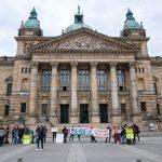 Beweisaufnahme abgeschlossen - Urteil vertagt. Bericht zur A143-Verhandlung in Leipzig
