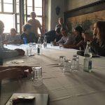 Unternehmen Zukunft: Stadträte trafen sich mit streikenden Schülern