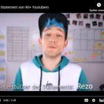 Solidarität mit Rezo - Offener Brief von mehr als 90 Youtubern