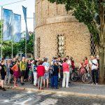 Trotz Dementi ist was im Busch: Protestexkursion gegen Stadtbahnprogramm 'Stufe 3' in Giebichenstein