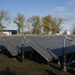 Energieversorgung: Halle nutzt Sonnenwärme