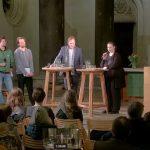 """Erste """"Townhall""""-Veranstaltung in Leipzig: OB Burkhard Jung (SPD) traf auf Ute E. Gabelmann (Piraten)"""