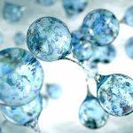 Schöne bunte Wasserstoff-Welt