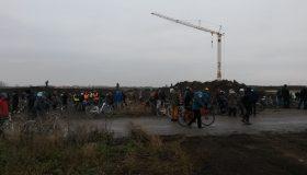 Demonstration am 12.12.2020 gegen den Bau der A143